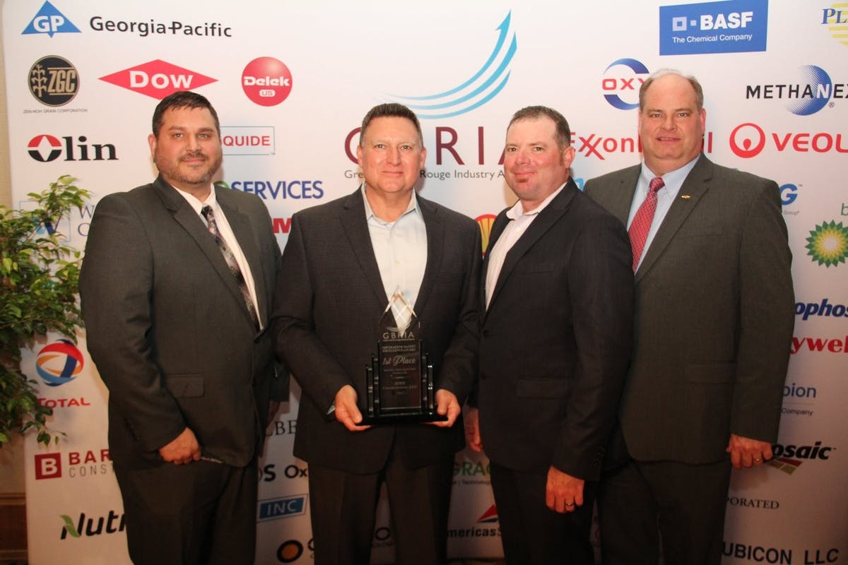 MMR Receives First Place Safety Excellence Award from GBRIA