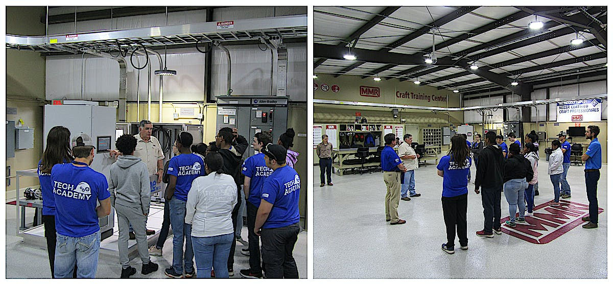 MMR Hosts a BASF TECH Academy Class for High School Students