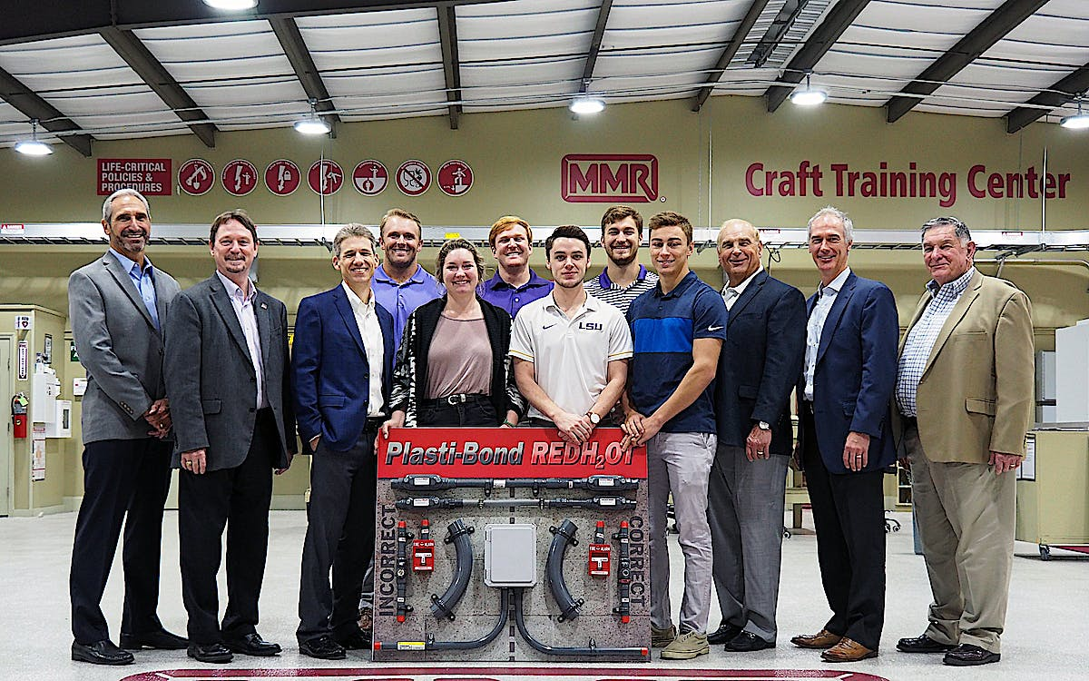 MMR and Rob Roy Industries Support the LSU Construction Management Program