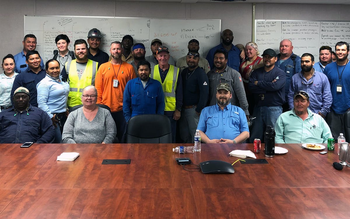 Sasol Recognizes MMR's Outstanding Safety Execution Efforts