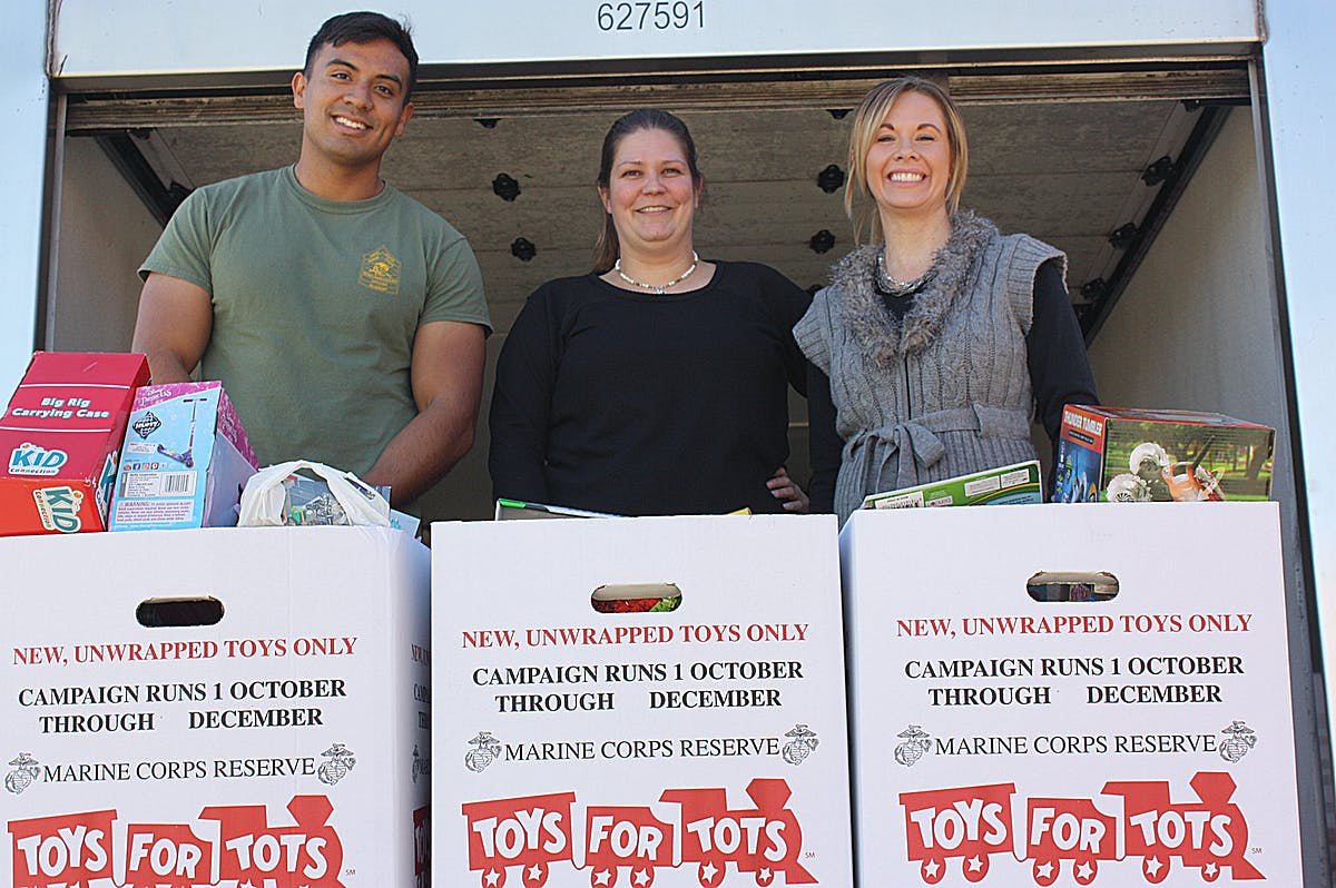 MMR Employees Support U.S. Marine Corps Reserve Toys for Tots Program