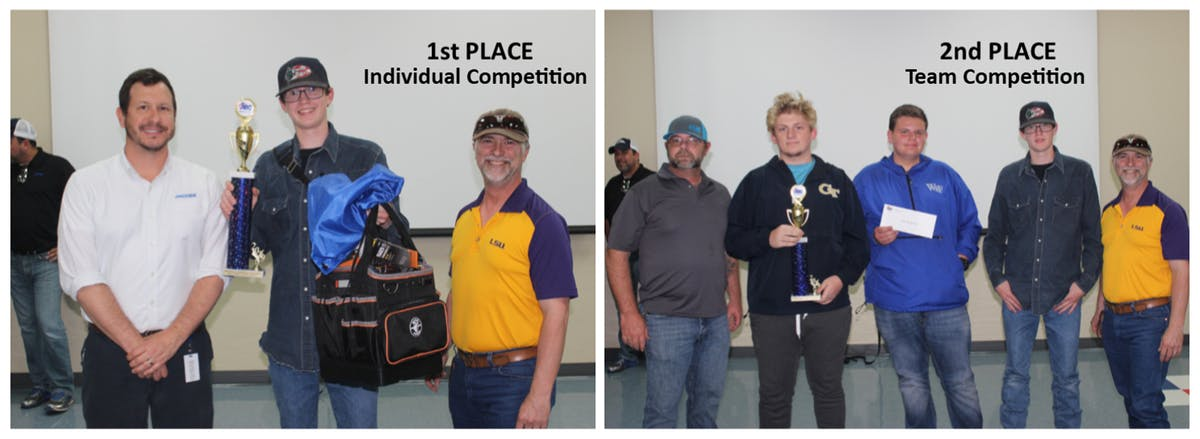 MMR sponsored Denham Springs High School and West Feliciana High School in Electrical Craft Competition
