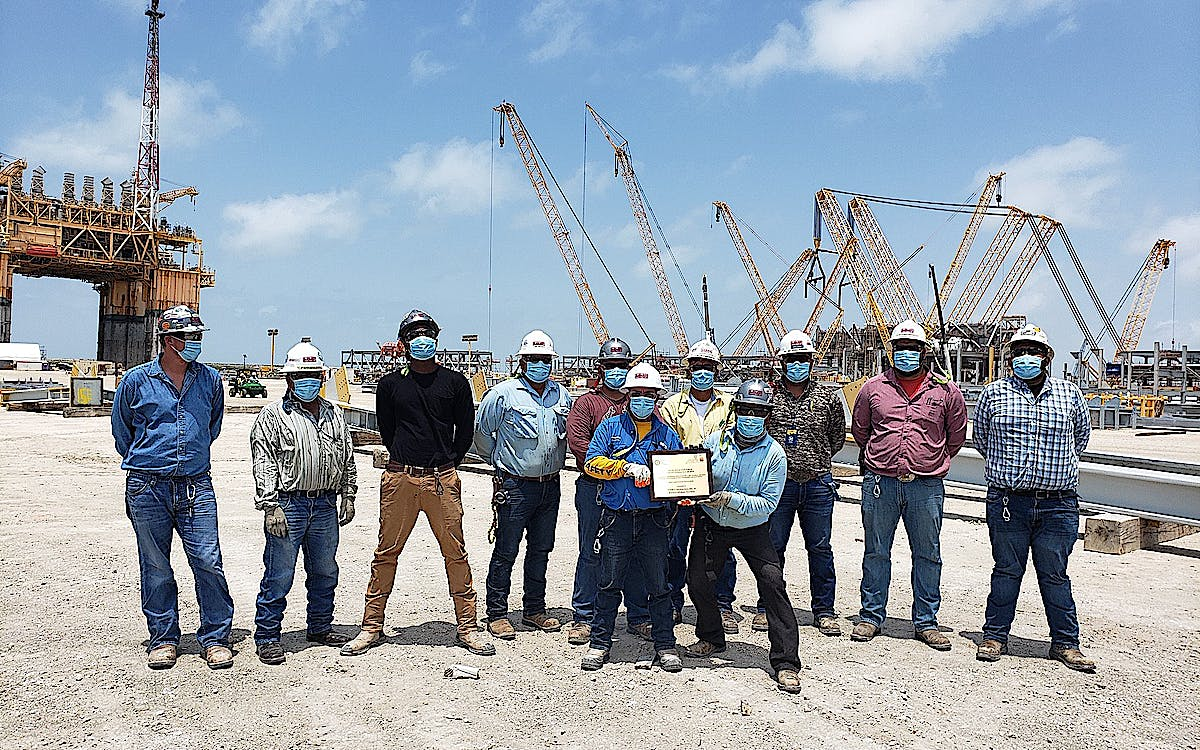 MMR Corpus Christi Receives Notable Safety Awards at the  28th Annual South Texas Industrial Industry Awards Banquet